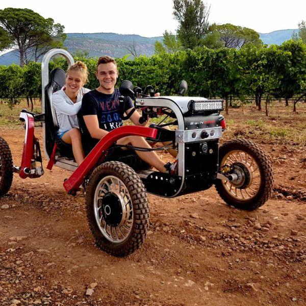 randonnee sport vehicule electrique pays basque - 1